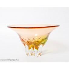Krāsaina stikla vāze, Līvānu stikla rūpnīca