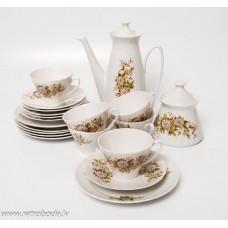 """Porcelāna kafijas servīze """"Vita"""""""