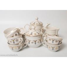 """Porcelāna Kafijas servīze nepilna, """"Tauta"""""""
