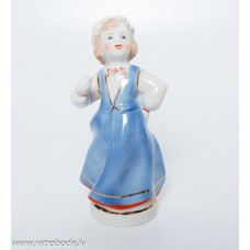 Porcelāna figūriņa, tautumeita, PFF Rīgas porcelāns