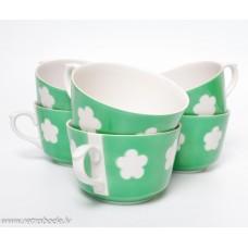 6. gab. Porcelāna tējas vai kafijas tases