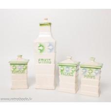 Porcelāna garšvielu trauku komplekts RKF
