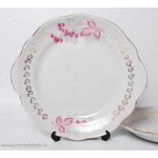 Porcelāna servēšanas šķīvis, RPR Rīgas porcelāns