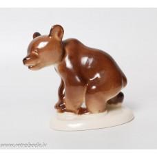 Porcelāna figūriņa, lācis, LFZ