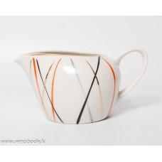 Porcelāna krējuma trauks, PFF, Rīgas porcelāns