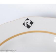 """Porcelāna šķīvis,  RPR, Restorāns """"Rīdzene"""""""