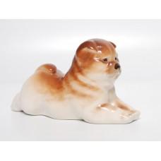 Porcelāna figūriņa, suns Čau-čau LFZ