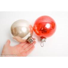 Ziemassvētku egles rotājums, liela bumba
